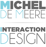 Michel de Meere | Portfolio of an Interaction Designer logo